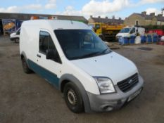 62 reg FORD TRANSIT CONNECT 90 T230 (DIRECT UNITED UTILITIES WATER) 1ST REG 12/12, V5 HERE, 1