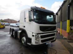 61 reg VOLVO FM460 TRACTOR UNIT (DIRECT UNITED UTILITIES) 1ST REG 01/12, TEST 11/20, [+ VAT]