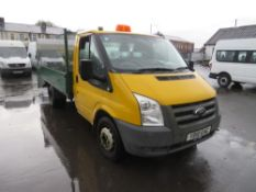10 reg FORD TRANSIT 115 T350M RWD DROPSIDE (DIRECT COUNCIL) 1ST REG 03/10, TEST 03/21, 57047M, V5