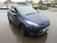 10 reg FORD FIESTA EDGE TDCI 68 HATCHBACK (DIRECT COUNCIL) 1ST REG 07/10, TEST 07/21, 115342M, V5