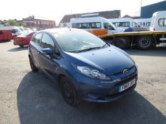 10 reg FORD FIESTA EDGE TDCI 68 HATCHBACK (DIRECT COUNCIL) 1ST REG 03/10, TEST 07/21, 99325M, V5