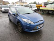 10 reg FORD FIESTA EDGE TDCI 68 HATCHBACK (DIRECT COUNCIL) 1ST REG 03/10, TEST 07/21, 92842M, V5