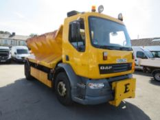 55 reg DAF FA LF55.220 18 TON GRITTER (DIRECT COUNCIL) 1ST REG 02/06, 122195KM WARRANTED, V5 HERE, 1