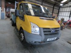 10 reg FORD TRANSIT 115 T350M RWD DROPSIDE (DIRECT COUNCIL) 1ST REG 06/10, TEST 10/21, [+ VAT]