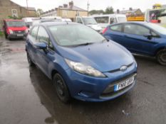 10 reg FORD FIESTA EDGE TDCI 68 HATCHBACK (DIRECT COUNCIL) 1ST REG 03/10, TEST 07/21, 90791M, V5