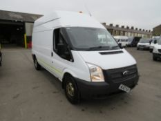 12 reg FORD TRANSIT 125 T350 RWD (DIRECT ELECTRICITY NW) 1ST REG 06/12, TEST 04/21, 143526M, V5