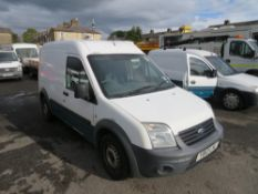 12 reg FORD TRANSIT CONNECT 90 T230 (DIRECT UNITED UTILITIES WATER) 1ST REG 06/12, TEST 04/21,