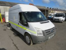 11 reg FORD TRANSIT 140 T350L HI ROOF LWB 4 X 4 AWD, 1ST REG 03/11, TEST 03/21, 131363M WARRANTED,
