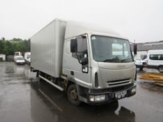 06 reg IVECO EUROCARGO ML75E17 7.5 TON BOX VAN, 1ST REG 08/06, TEST 10/20, 471305KM NOT WARRANTED,