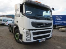 60 reg VOLVO FM460 TRACTOR UNIT (DIRECT UNITED UTILITIES WATER) 1ST REG 01/11, TEST 11/20 [+ VAT]