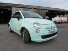 15 reg FIAT 500, 1ST REG 03/15, TEST 03/21, 47633M, NO V5 (ON VCAR CAT C) [NO VAT]