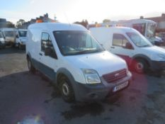 12 reg FORD TRANSIT CONNECT 90 T230 (DIRECT UNITED UTILITIES WATER) 1ST REG 07/12, TEST 04/21,