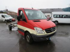 09 reg MERCEDES SPRINTER 311 CDI LWB CHASSIS CAB, 1ST REG 04/09, TEST 01/21, 218859M WARRANTED, NO
