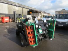 17 reg RANSOME PARKWAY 3 RIDE ON TRIPLE MOWER (DIRECT COUNCIL) 1ST REG 04/17, 308 HOURS [+ VAT]
