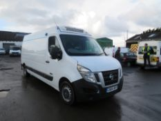 64 reg NISSAN NV400 SE DCI FRIDGE VAN, 1ST REG 12/14, TEST 12/20, 187844M WARRANTED, V5 HERE, 1