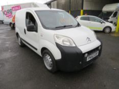 62 reg CITROEN NEMO 660 X HDI, 1ST REG 11/12, TEST 11/20, 133169M WARRANTED, NO V5 [+ VAT]