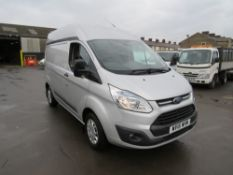 16 reg FORD TRANSIT CUSTOM 310 TREND E-TEC, 1ST REG 06/16, 86872M, V5 TO FOLLOW [+ VAT]
