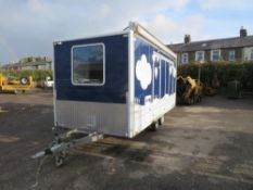 LYNTON EXHIBITION TRAILER (DIRECT ELECTRICITY NW) [+ VAT]