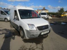 12 reg FORD TRANSIT CONNECT 90 T230 (DIRECT UNITED UTILITIES WATER) 1ST REG 03/12, TEST [+ VAT]
