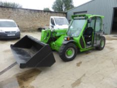 2012 MERLO P25.6 TELEHANDLER C/W BUCKET & FORKS (LOCATION PADIHAM) 2200 HOURS (RING FOR COLLECTION
