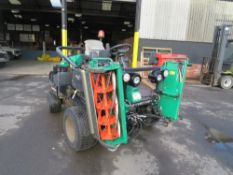 17 reg RANSOME PARKWAY 3 RIDE ON TRIPLE MOWER (DIRECT COUNCIL) 1ST REG 04/17, 306 HOURS [+ VAT]