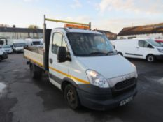 63 reg IVECO DAILY 35C15 MWB TIPPER (DIRECT COUNCIL) 1ST REG 02/14, TEST 01/21, 95451M, V5 HERE, 1