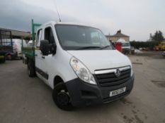 61 reg VAUXHALL MOVANO R4500 L3H1 CDTI DRW TIPPER (DIRECT COUNCIL) 1ST REG 09/11, TEST 02/21,