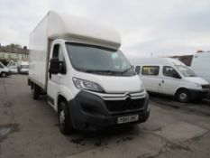 65 reg CITROEN RELAY 35 L3 HDI LUTON VAN, 1ST REG 09/15, 243068M, NO V5, RUNS BUT ENGINE [+ VAT]
