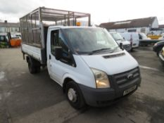 12 reg FORD TRANSIT 100 T350 RWD TIPPER (DIRECT COUNCIL) 1ST REG 05/12, TEST 05/21, 100738M, V5