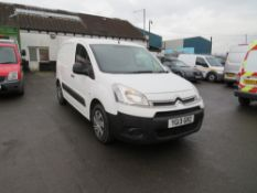 13 reg CITROEN BERLINGO 625 LX HDI, 1ST REG 03/13, TEST 08/21, 141482M WARRANTED, V5 HERE, 1