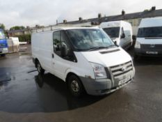 58 reg FORD TRANSIT 85 T280M FWD (DIRECT COUNCIL) 1ST REG 01/09, TEST 01/21, 97270M, V5 HERE, 1