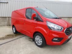 PRE-REGISTERED 20 reg FORD TRANSIT CUSTOM 2.0 LIMITED (LOCATION PADIHAM) 246.7M, APP CONNECT, PARK