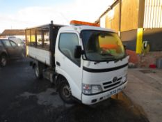 58 reg TOYOTA DYNA 300 D-4D SWB TIPPER (DIRECT COUNCIL) 1ST REG 11/08, 136368M, V5 HERE, 1 OWNER
