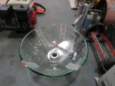 GLASS BOWL SINK [NO VAT]