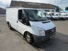 09 reg FORD TRANSIT 85 T280M FWD (DIRECT COUNCIL) 1ST REG 03/09, TEST 04/21, 66741M, V5 HERE, 1