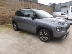 68 reg CITROEN C3 AIR CROSS PURETECH FEEL 1.2 (LOCATION PADIHAM) 1ST REG 09/18, 17589M, APP CONNECT,