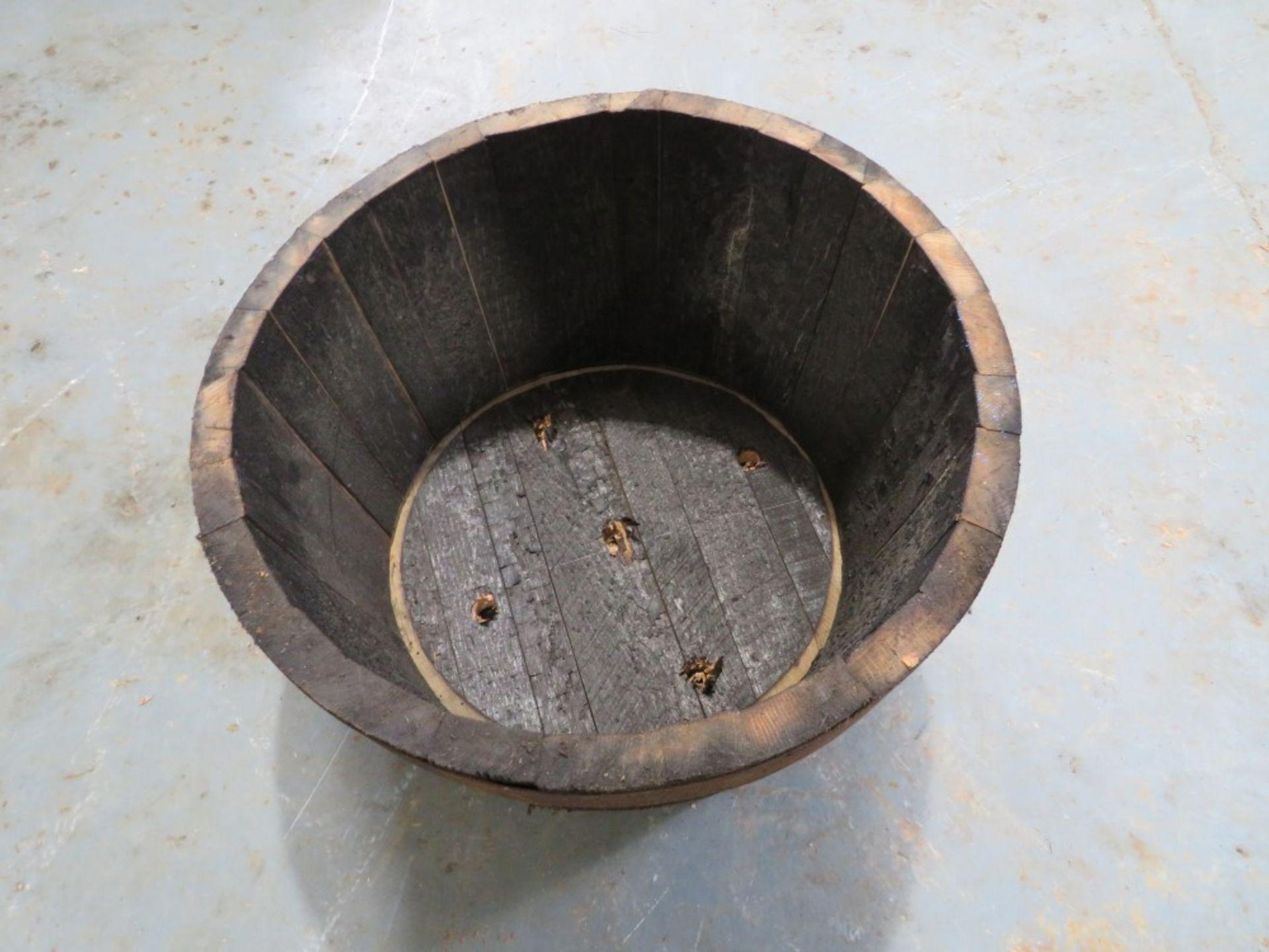1/2 BARREL WHISKEY TUB [NO VAT]