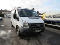 09 reg FORD TRANSIT 85 T280M FWD (DIRECT COUNCIL) 1ST REG 05/09, TEST 05/21, 112430M, V5 HERE, 1