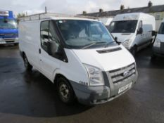 09 reg FORD TRANSIT 85 T280M FWD (DIRECT COUNCIL) 1ST REG 05/09, TEST 04/21, 52926M, V5 HERE, 1