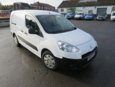 13 reg PEUGEOT PARTNER 5 SEAT CREWVAN, TWIN SIDE DOORS, MAXI, 1ST REG 03/13, TEST 02/21, 126718M