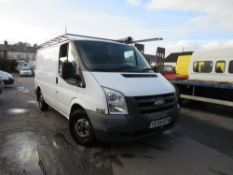 58 reg FORD TRANSIT 85 T280M FWD (DIRECT COUNCIL) 1ST REG 01/09, TEST 01/21, 86077M, V5 HERE, 1