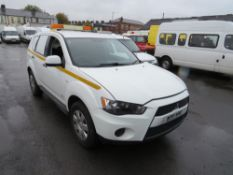 11 reg MITSUBISHI OUTLANDER GX1 4WORK DI-D 4 X 4 (DIRECT COUNCIL) 1ST REG 05/11, TEST 03/21, 121391M