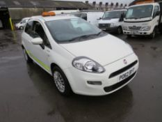 62 reg FIAT PUNTO EVO ACTIVE MULTIJET (DIRECT COUNCIL) 1ST REG 11/12, 109807M, V5 HERE, [+ VAT]