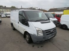 59 reg FORD TRANSIT 85 T280M FWD (DIRECT COUNCIL) 1ST REG 02/10, TEST 06/21, 71277M, V5 HERE, 1