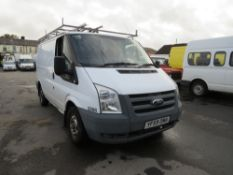 59 reg FORD TRANSIT 85 T280M FWD (DIRECT COUNCIL) 1ST REG 02/10, TEST 01/21, 49959M, V5 HERE, 1
