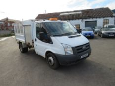 10 reg FORD TRANSIT 100 T350M RWD TIPPER (DIRECT COUNCIL) 1ST REG 07/10, TEST 12/20, 41169M NOT