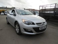 65 reg VAUXHALL ASTRA DESIGN CDTI ECOFLEX ESTATE, 1ST REG 01/16, TEST 12/20, 90289M NOT [NO VAT]