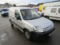 08 reg CITROEN BERLINGO 600 HDI ENTER 75, 1ST REG 05/08, TEST 11/20, 121110M NOT WARRANTED, V5