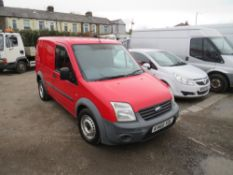 60 reg FORD TRANSIT CONNECT 90 T220, 1ST REG 10/10, TEST 09/21, 118291M, V5 HERE, 1 FORMER KEEPER [+