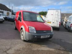 09 reg FORD TRANSIT CONNECT T200 75, 1ST REG 03/09, TEST 02/21, 149471M, V5 HERE, 1 FORMER [+ VAT]